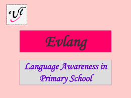 EVLANG - European Centre for Modern Languages