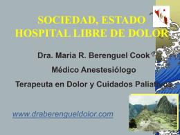 Dolor en el Paciente Hospitalizado Fuente SED , SECPAL
