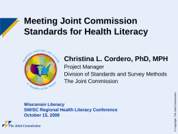The Joint Commission - Light PP Presentation