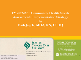 SCCA Community Health Needs Assessment …