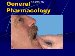 General Pharmacology - Chemeketa Community College