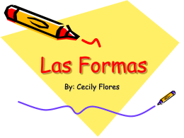 Las Formas/Shapes