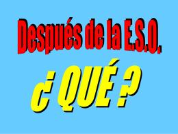 BACHILLERATO DE CIENCIAS DE LA SALUD