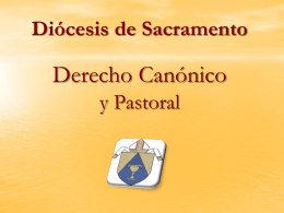 Diocese of Sacramento Tribunal Workshop