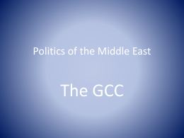 Politics of the Middle East