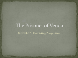 The Prisoner of Venda