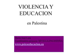 VIOLENCIA Y EDUCACION
