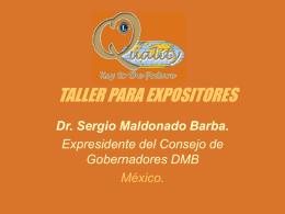 TALLER PARA EXPOSITORES