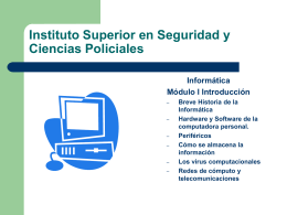 Instituto Superior en Seguridad y Ciencias Policiales