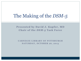 DSM Powerpoint - Incoming Student Resources