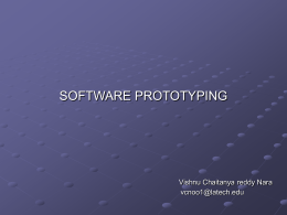 Software prototyping - Louisiana Tech University