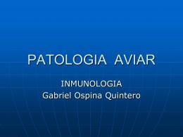 PATOLOGIA AVIAR