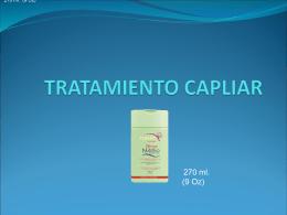 TRATAMIENTO CAPLIAR