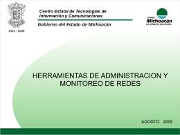 HERRAMIENTAS DE ADMINISTRACION Y MONITOREO DE …