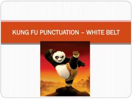 KUNG FU PUNCTUATION - Bangkok Patana School