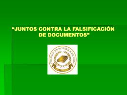 Diapositiva 1 - Colegio de Notarios de Lima