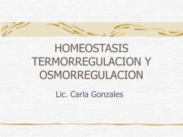 Homeostasis - UPCH - Universidad Peruana Cayetano …
