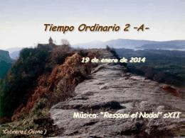 Salmo 39 - Tiempo Ordinario 2 A