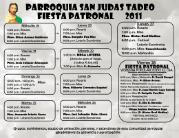 Diapositiva 1 - Parroquia de San Judas Tadeo | Nuevo
