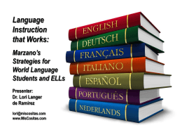 An introduction to World Languages at Herricks