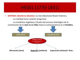 HEGEL (1770