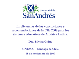 Propuestas de Reforma - UNESCO | Building peace in the