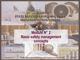 ICAO SSP Module 02 - SSP basic safety concepts