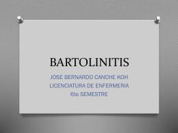 BARTOLINITIS