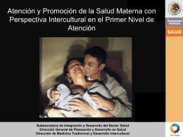 Diapositiva 1 - Maternidad sin riesgos