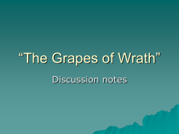 "The Grapes of Wrath"" - Wayzata School District / …"