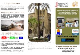 Diapositiva 1 - Ciclos Formativos de FP en Valencia