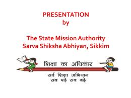 Annexure - III - Sarva Shiksha Abhiyan