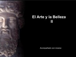 El arte y la belleza (II)