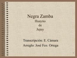 Negra zamba
