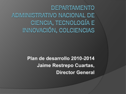 Departamento Administrativo Nacional de ciencia