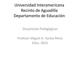 Universidad Interamericana Recinto de Aguadilla