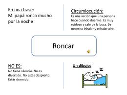 Roncar