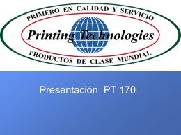 Maquina smi 35 - Printing Technologies S.A. de C.V.