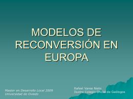 MODELO RUHRKOHLE AG - Universidad de Oviedo