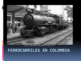 Ferrocariles en colombia