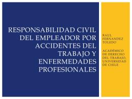 RESPONSABILIDAD DEL EMPLEADOR POR ACCIDENTES …