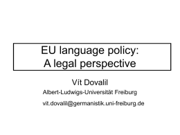 Official languages as a language problem in EU case law