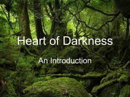 Heart of Darkness - San Dieguito Union High School District