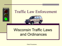 Traffic Law Enforcement - Mid