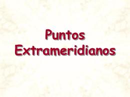 Puntos Extrameridianos - .:: Universidad Privada Norbert