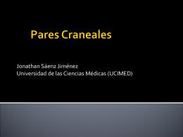 Pares Craneales - nutricion | Departamento de Ciencias