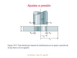 Chapter 10: Stresses and Deformations in Cylinders
