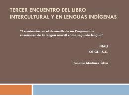 Tercer Encuentro del Libro Intercultural y en Lenguas