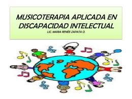 MUSICOTERAPIA APLICADA EN DISCAPACIDAD …