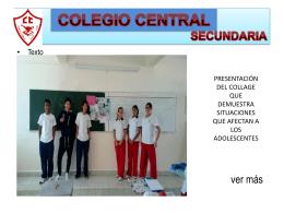 Diapositiva 1 - Colegio Central